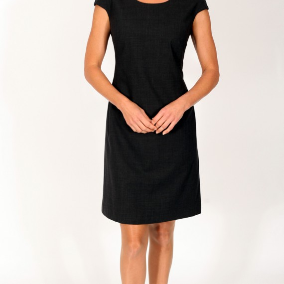 DR02---Fitted,-lined-dress-with-cap-sleeves