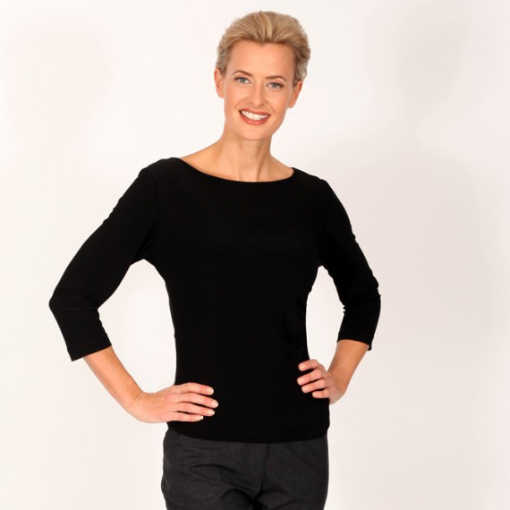 ST1Q-Fitted-stretch-top-with-three-quarter-sleeves-with-pant